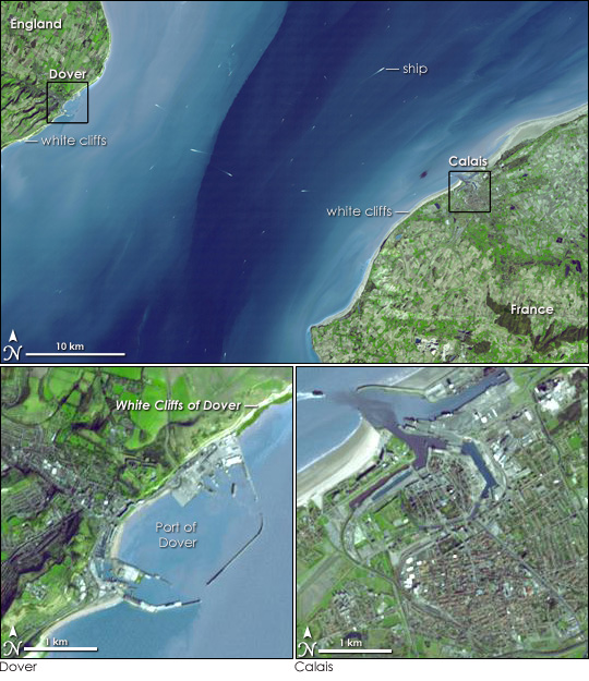 The Strait of Dover
