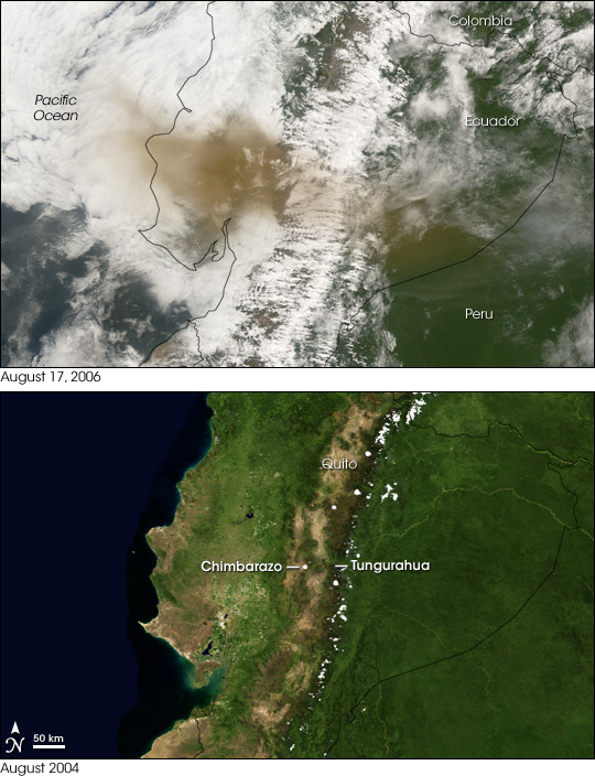 Eruption of Tungurahua