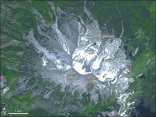 Rock Glacier on Mount Sopris