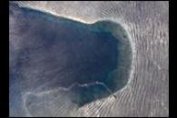 Wave Patterns Near Bajo Nuevo Reef, Caribbean Sea