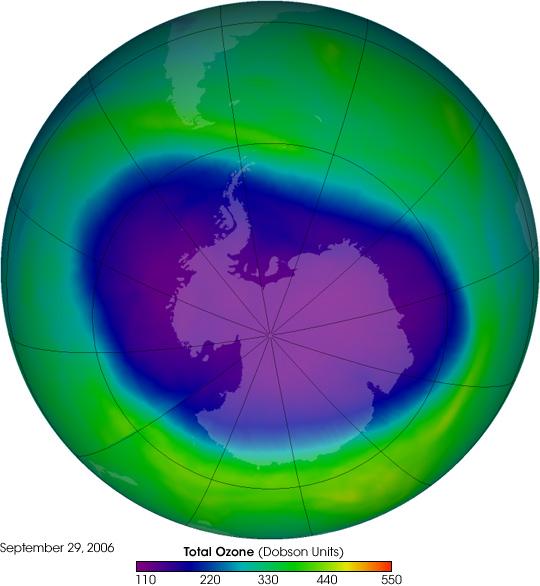 NASA Observes the Antarctic Ozone Hole