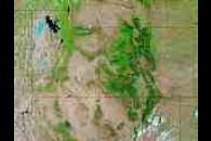 Wildfires in Utah, Colorado, and New Mexico