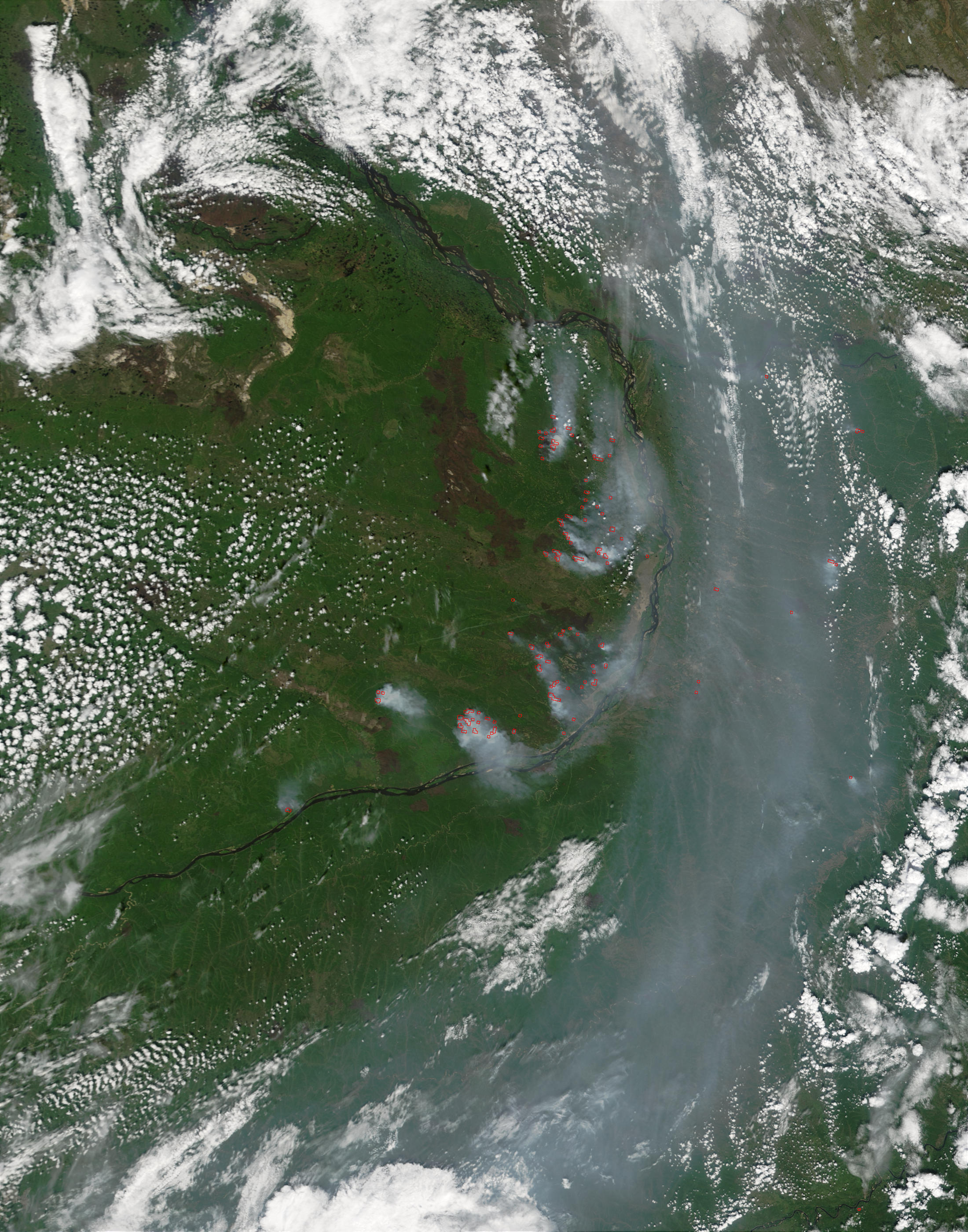 Fires near Yakutsk, Russia - related image preview
