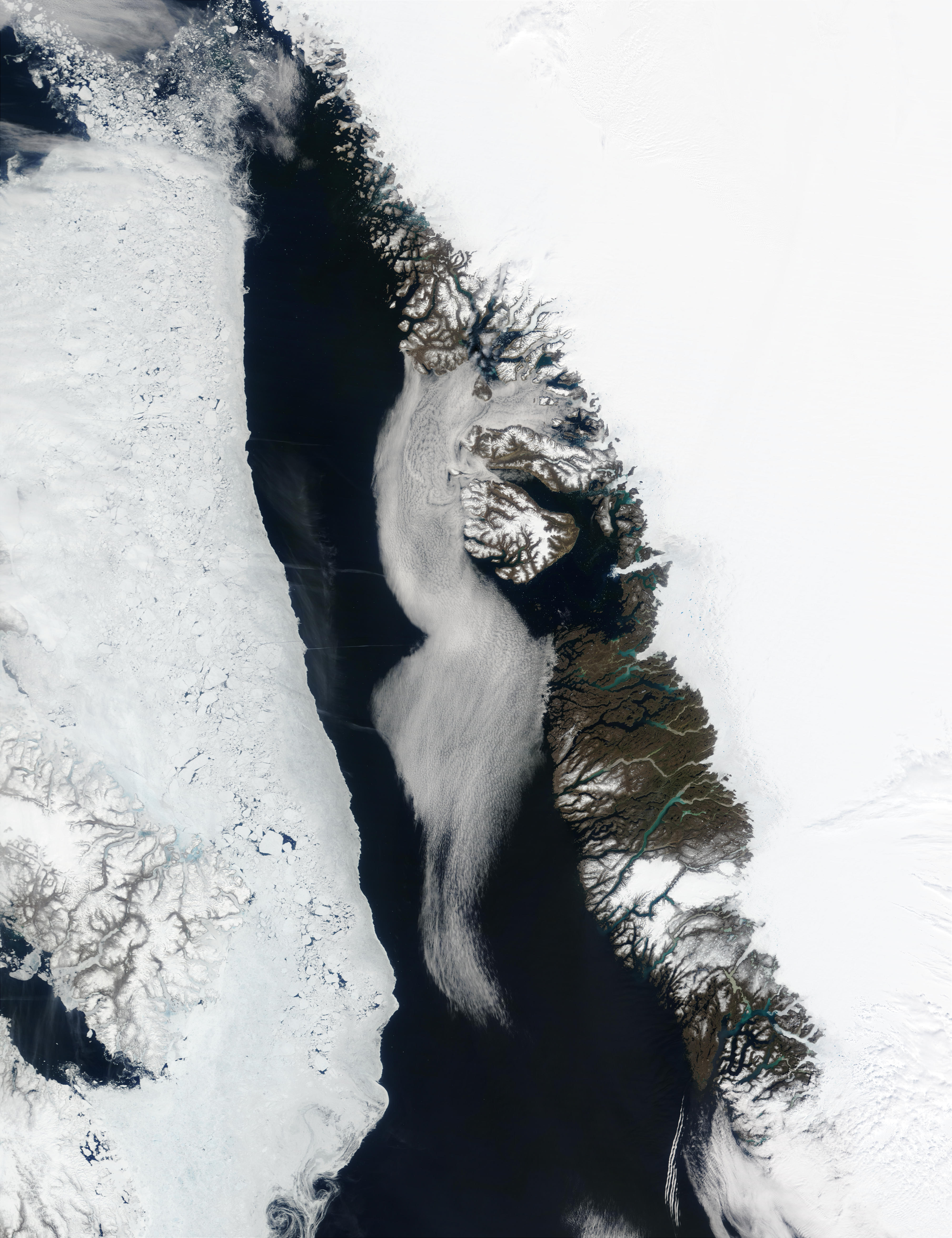 Greenland West Coast and Davis Strait - related image preview