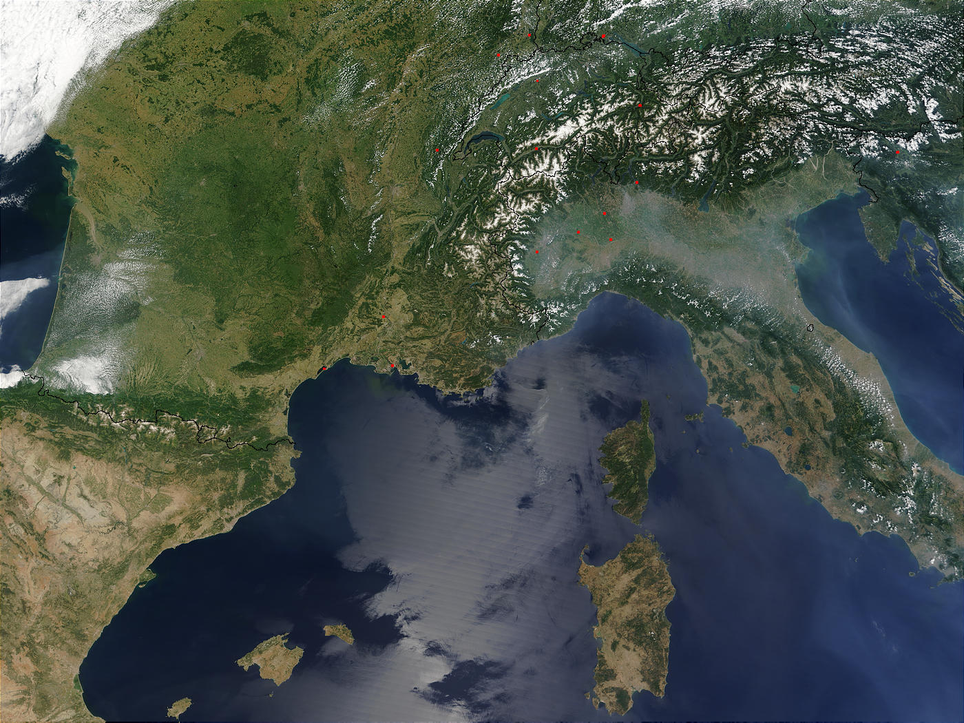 Southern France and Northern Italy - related image preview
