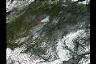 Fires in Central Alaska