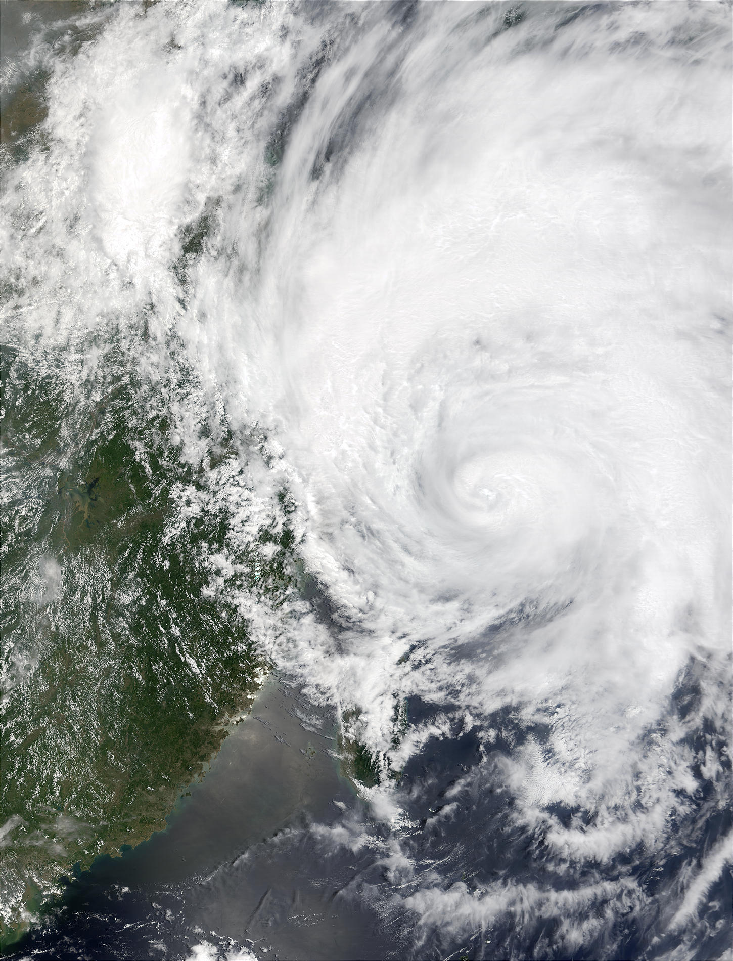 Typhoon Rammasun (09W) off China and Taiwan - related image preview