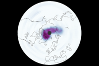 Long Cold Spell Leads to Arctic Ozone Hole