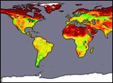 Global Albedo - selected image