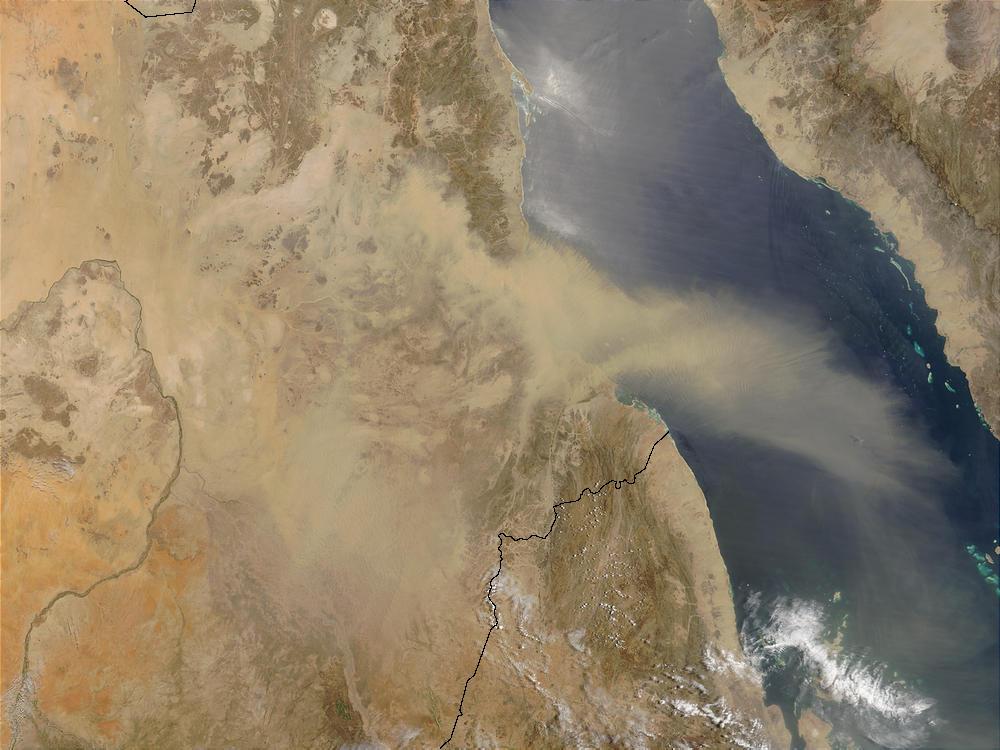 dust storms nasa - photo #17