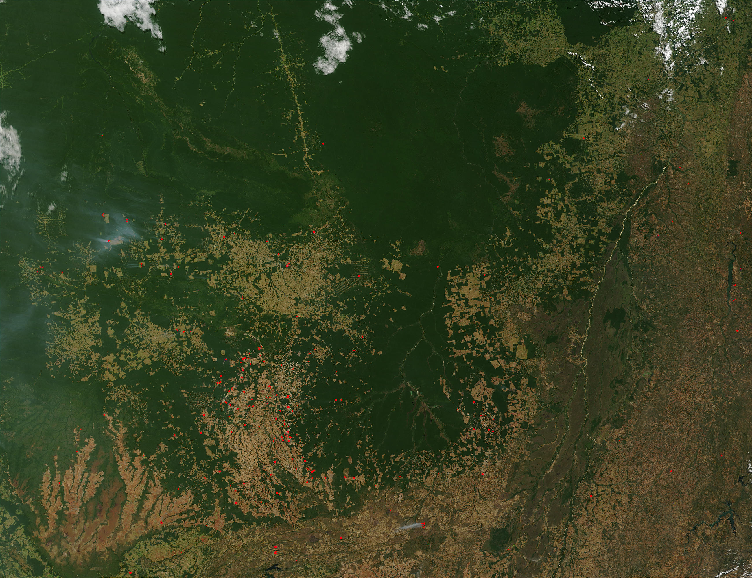 Fires in Mato Grosso, Brazil - related image preview