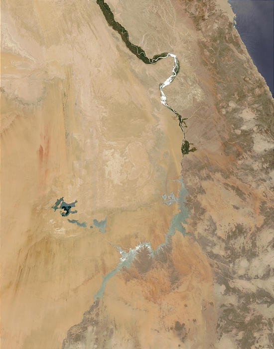 Sunglint on the Nile - related image preview