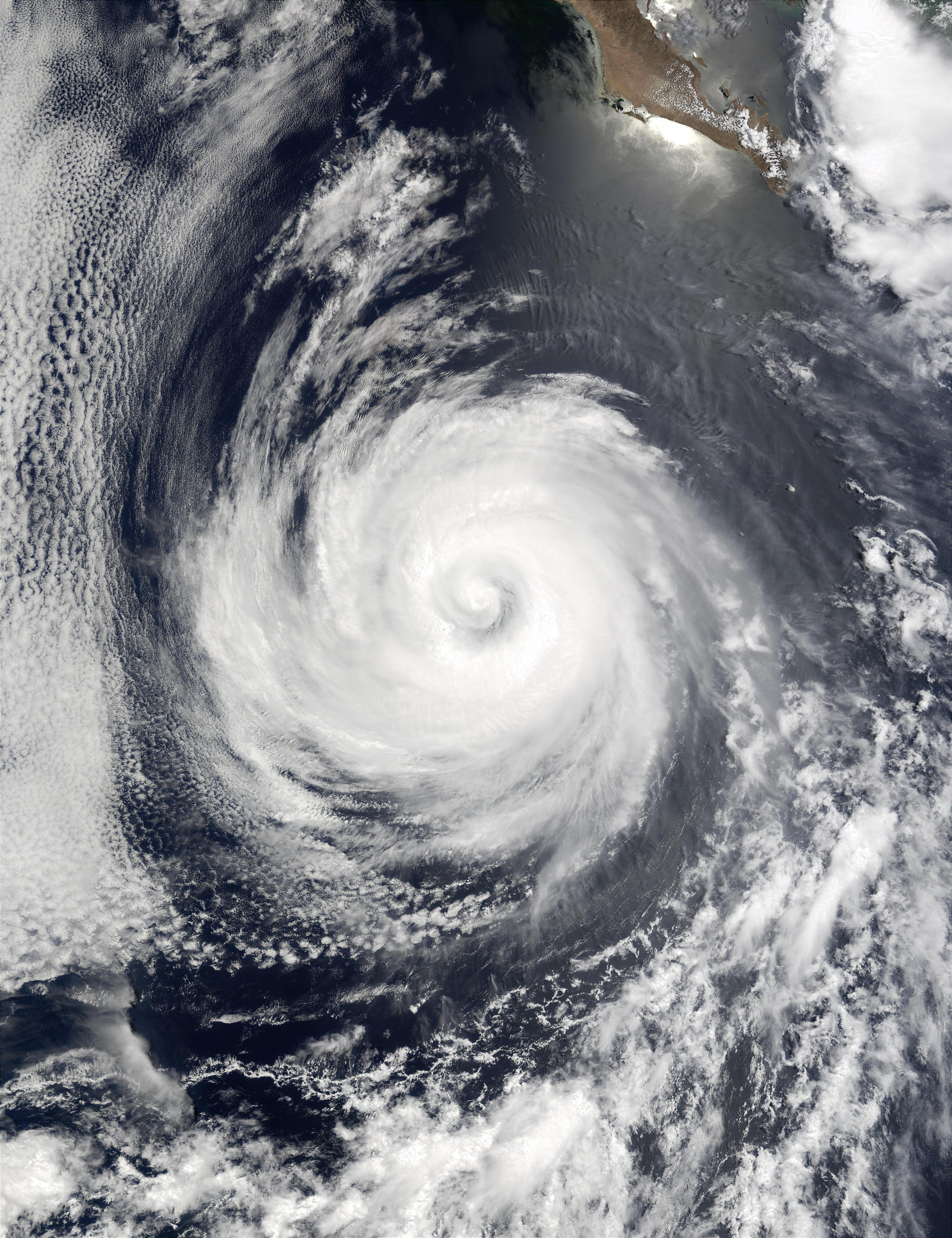 Hurricane Douglas south of Baja California - related image preview