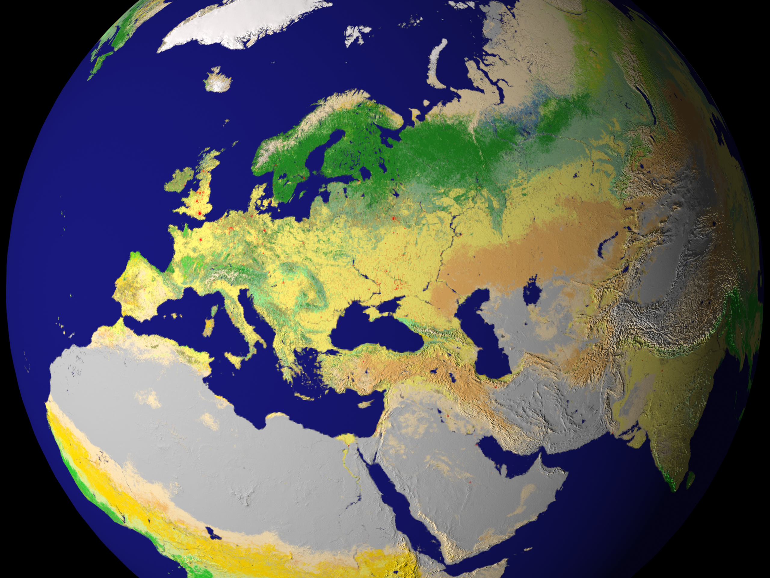 New Land Cover Classification Maps - related image preview