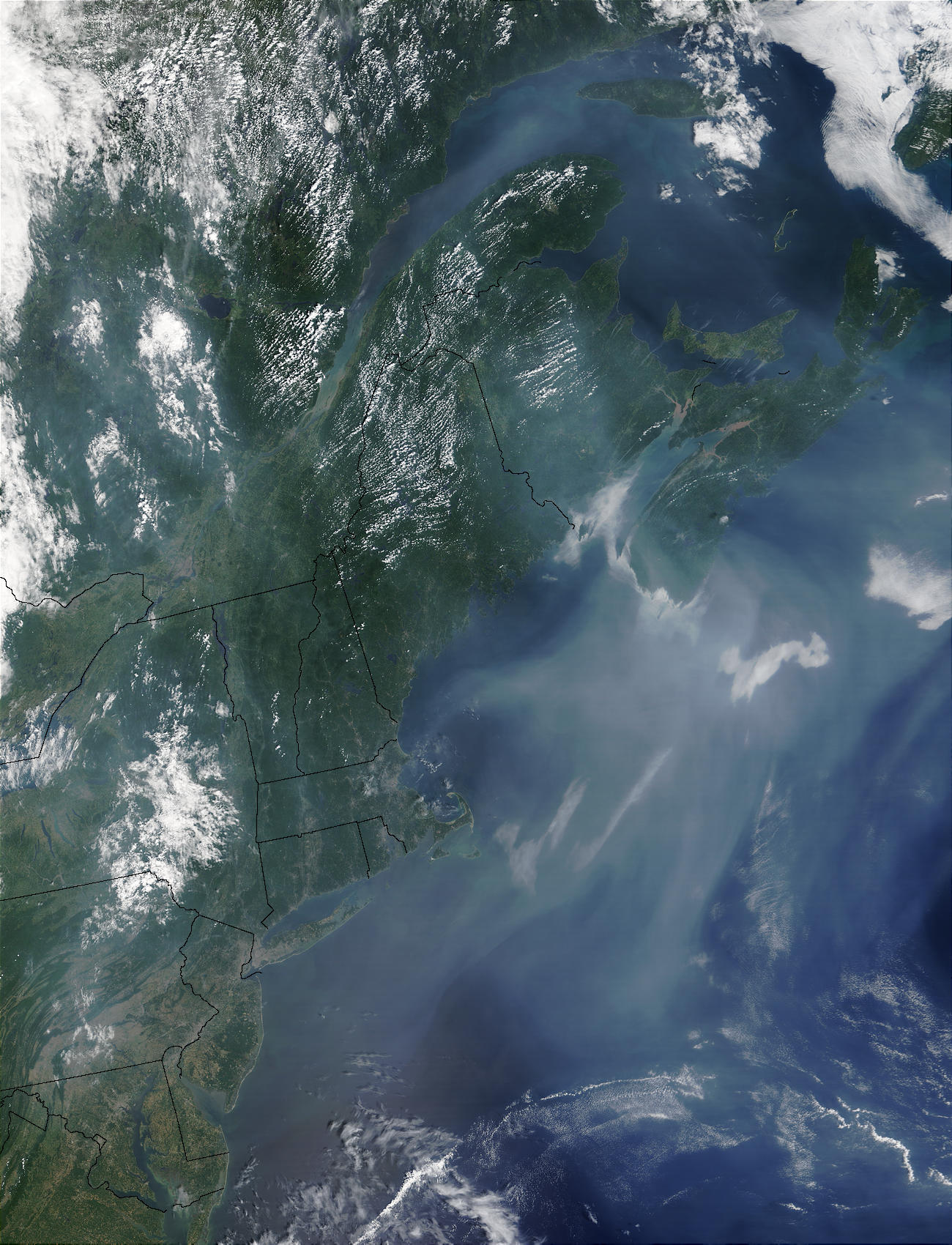 Pollution off United States East Coast - related image preview