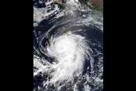 Hurricane Elida off Mexico