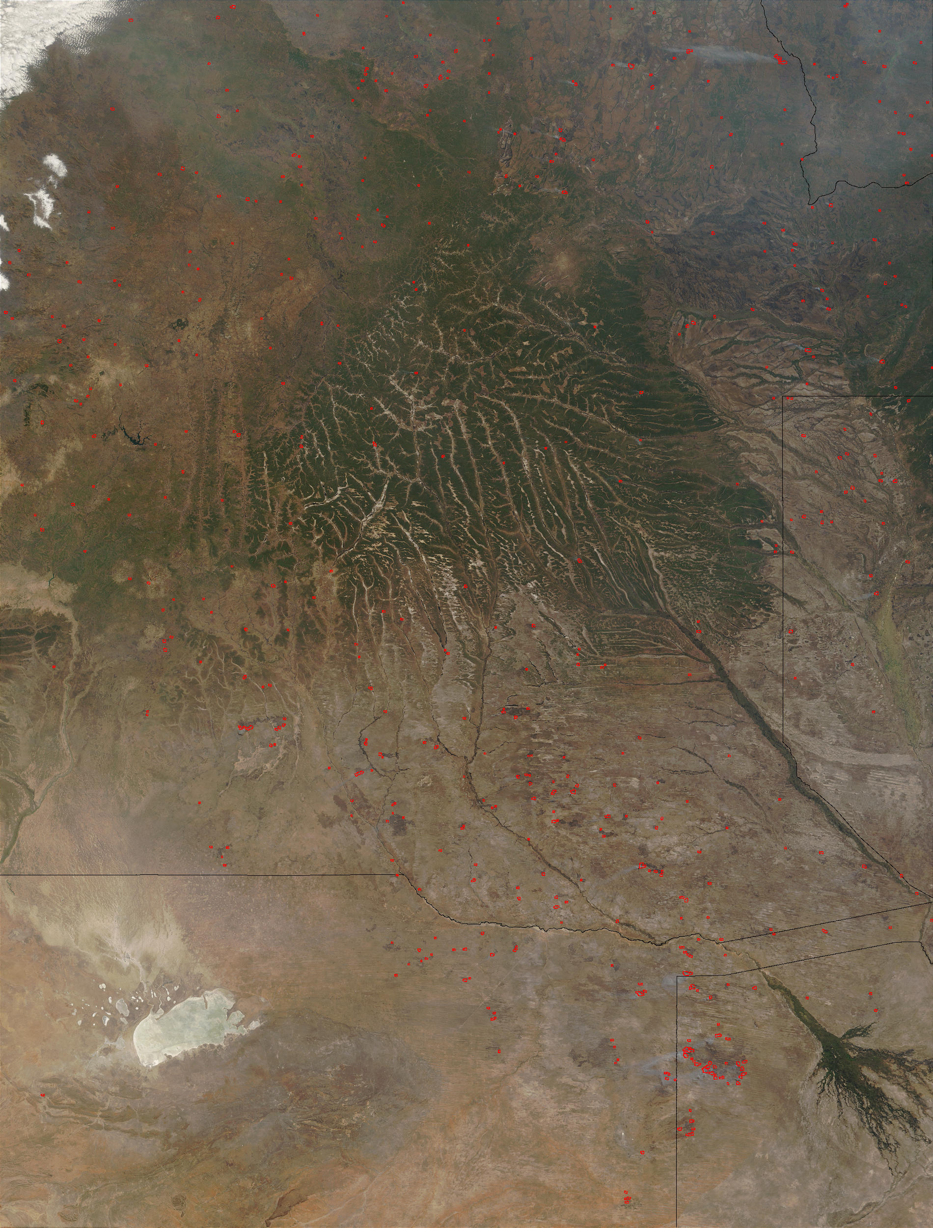 Fires in Angola and Botswana - related image preview