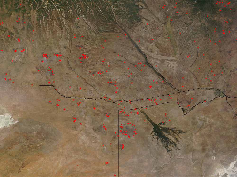 Fires in Angola, Botswana, and Zambia - related image preview