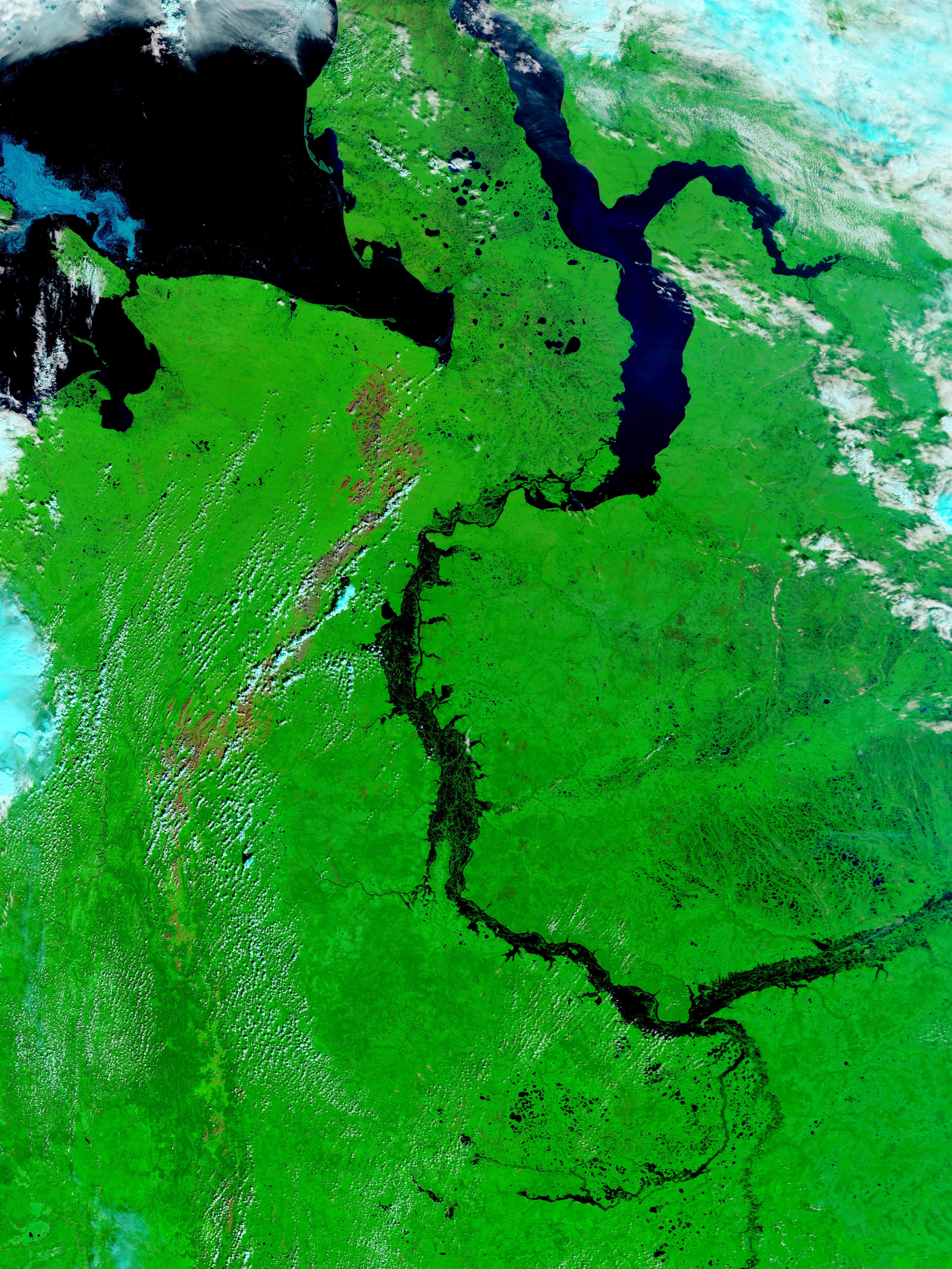 Ob River Russia