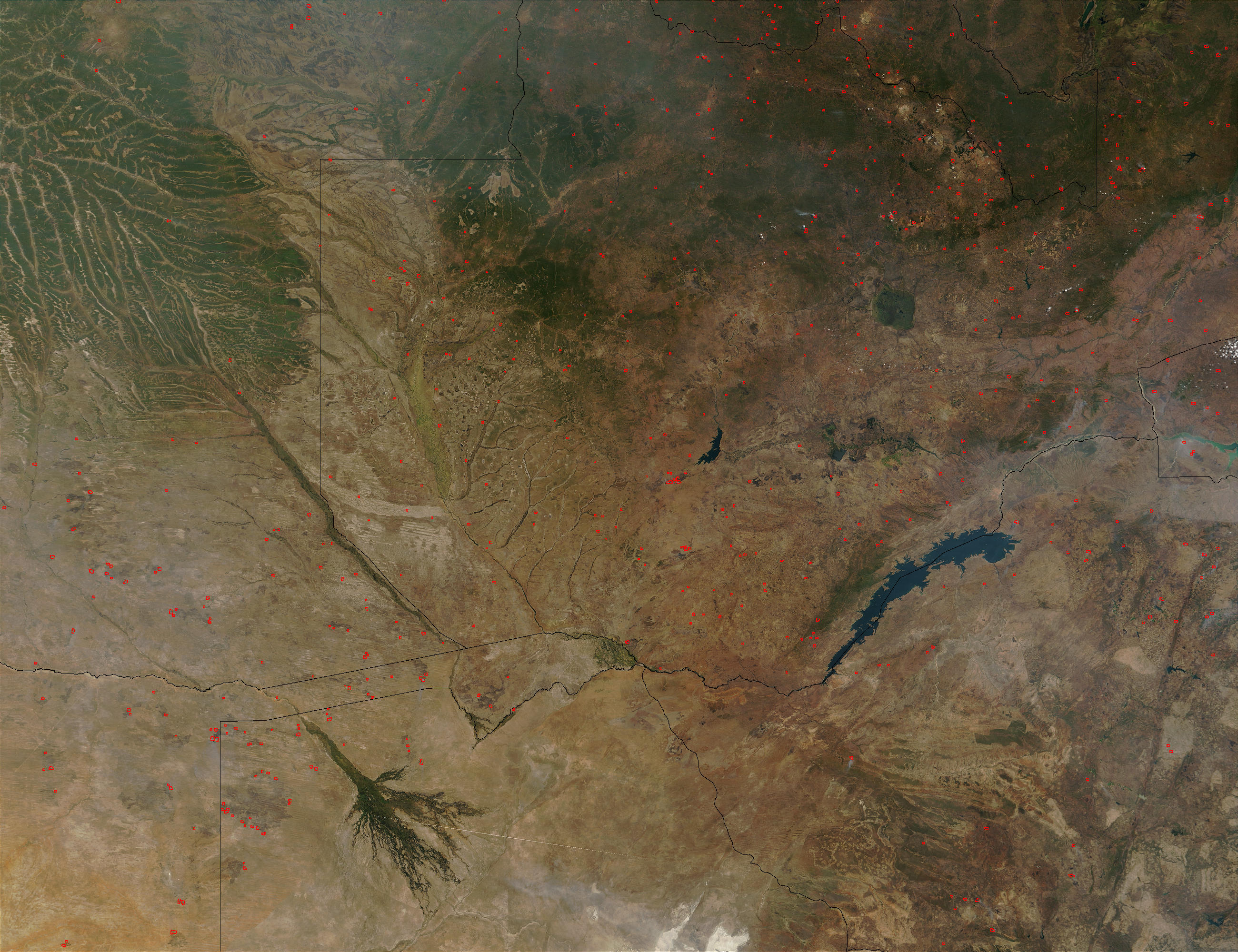Fires in Zambia - related image preview