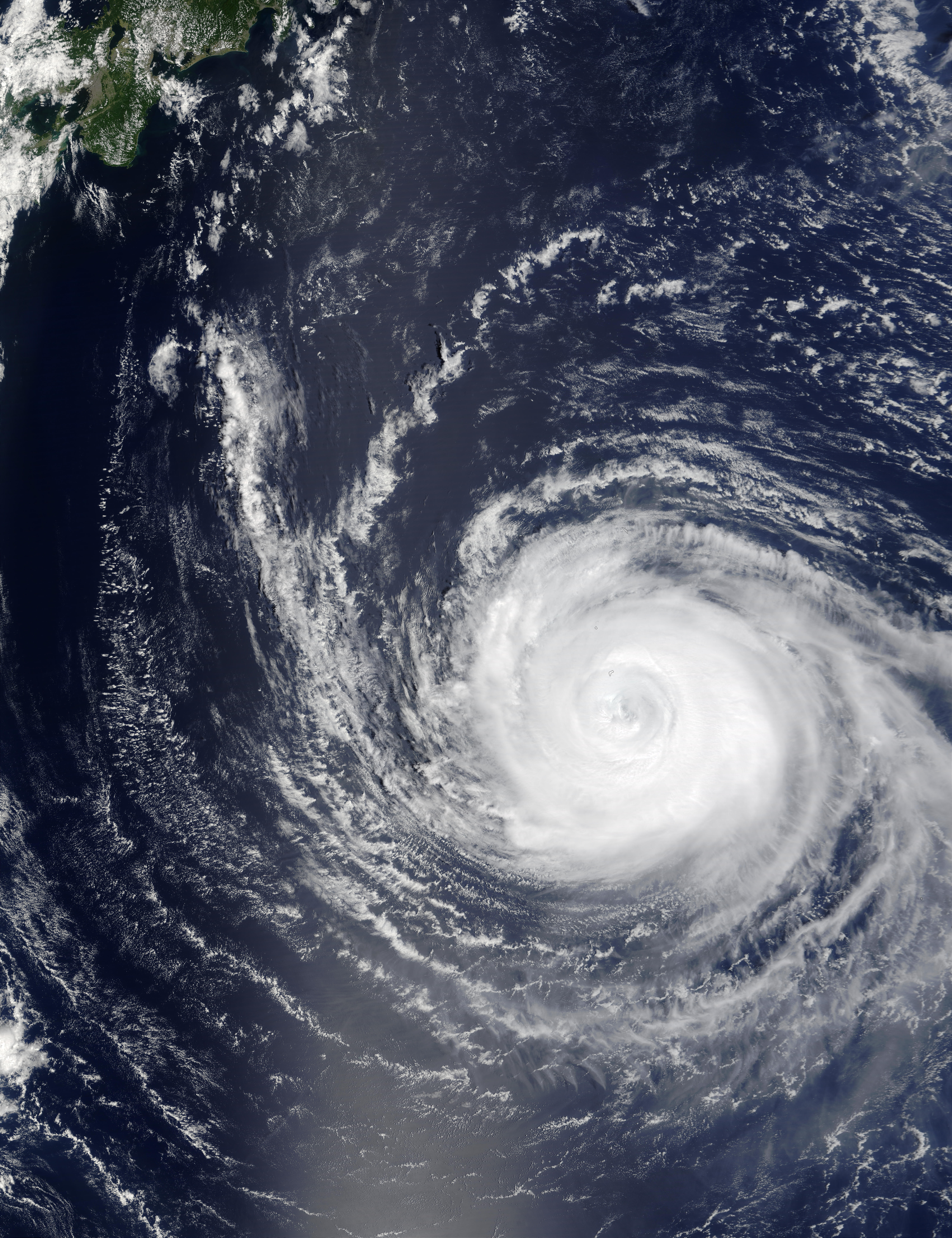 Typhoon Sinlaku (22W) southeast of Japan - related image preview
