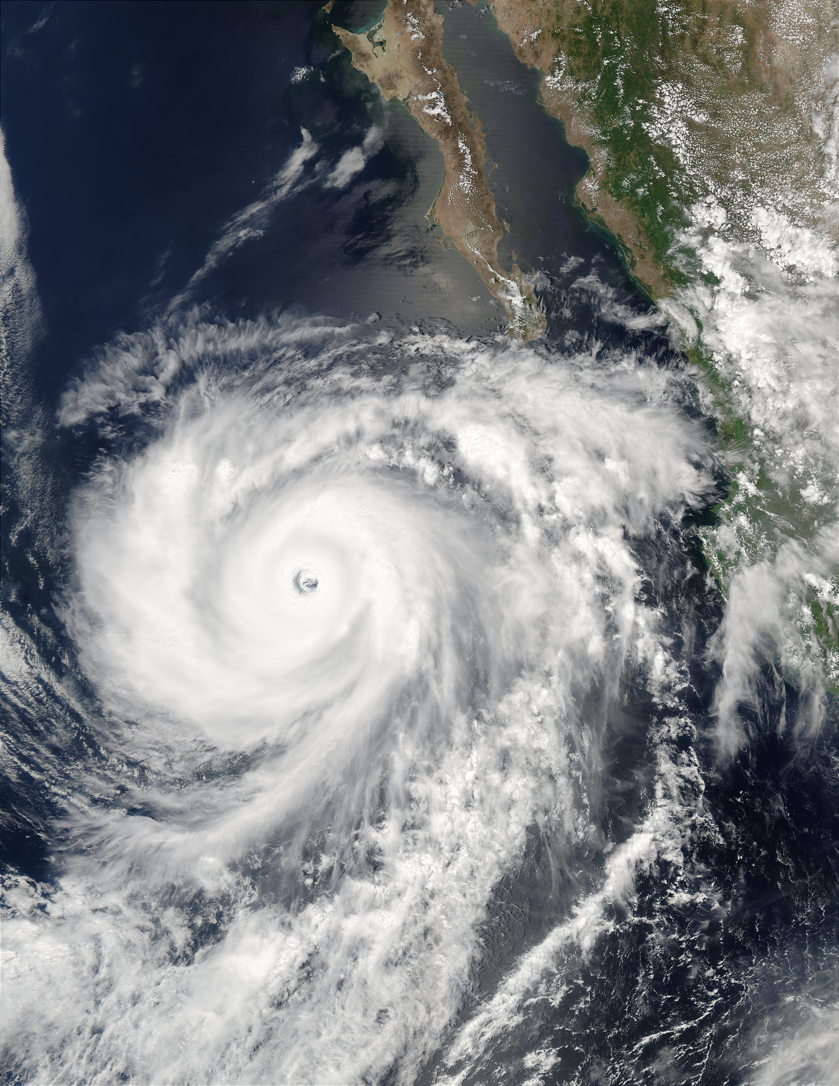 Hurricane Hernan (10E) off Mexico - related image preview