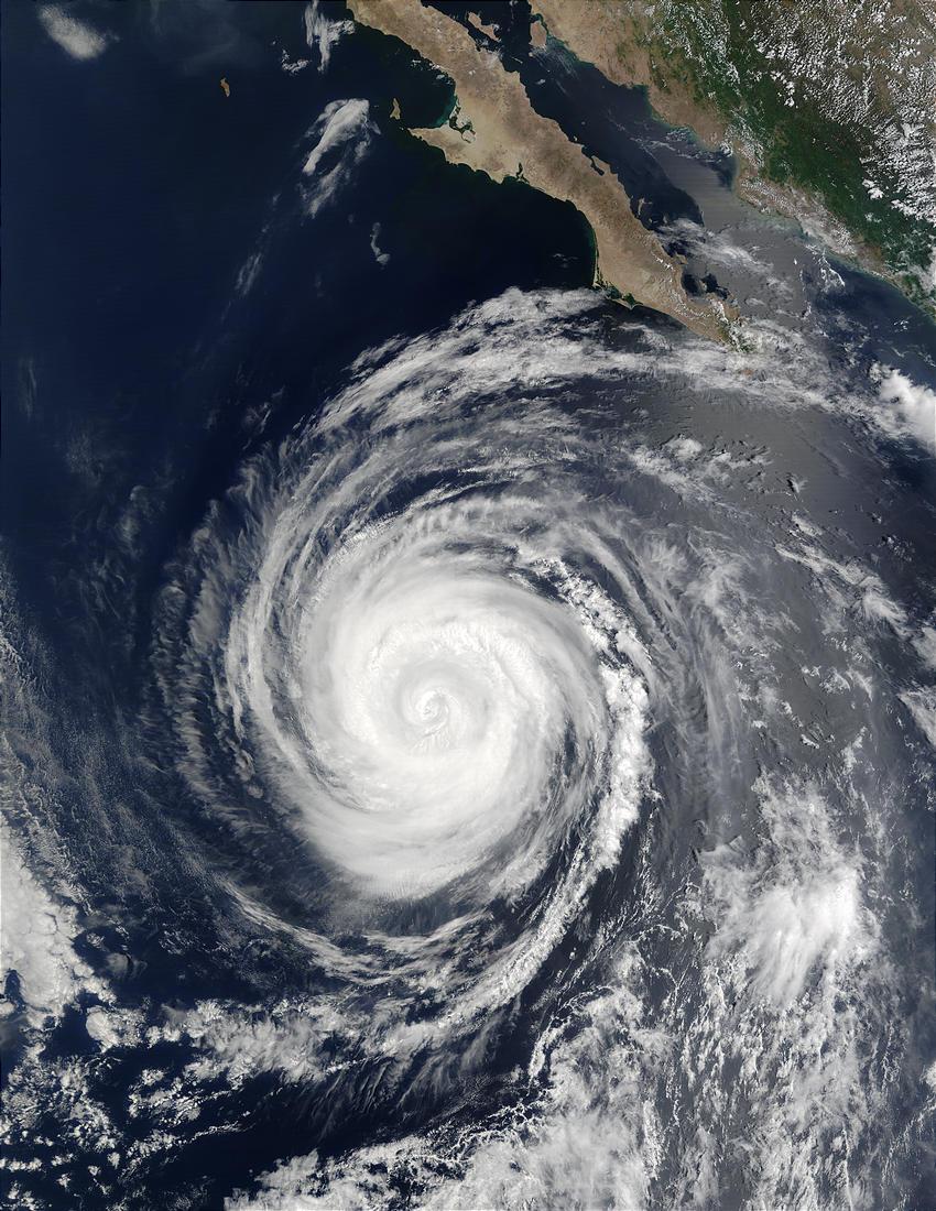 Hurricane Hernan (10E) off Baja California - related image preview