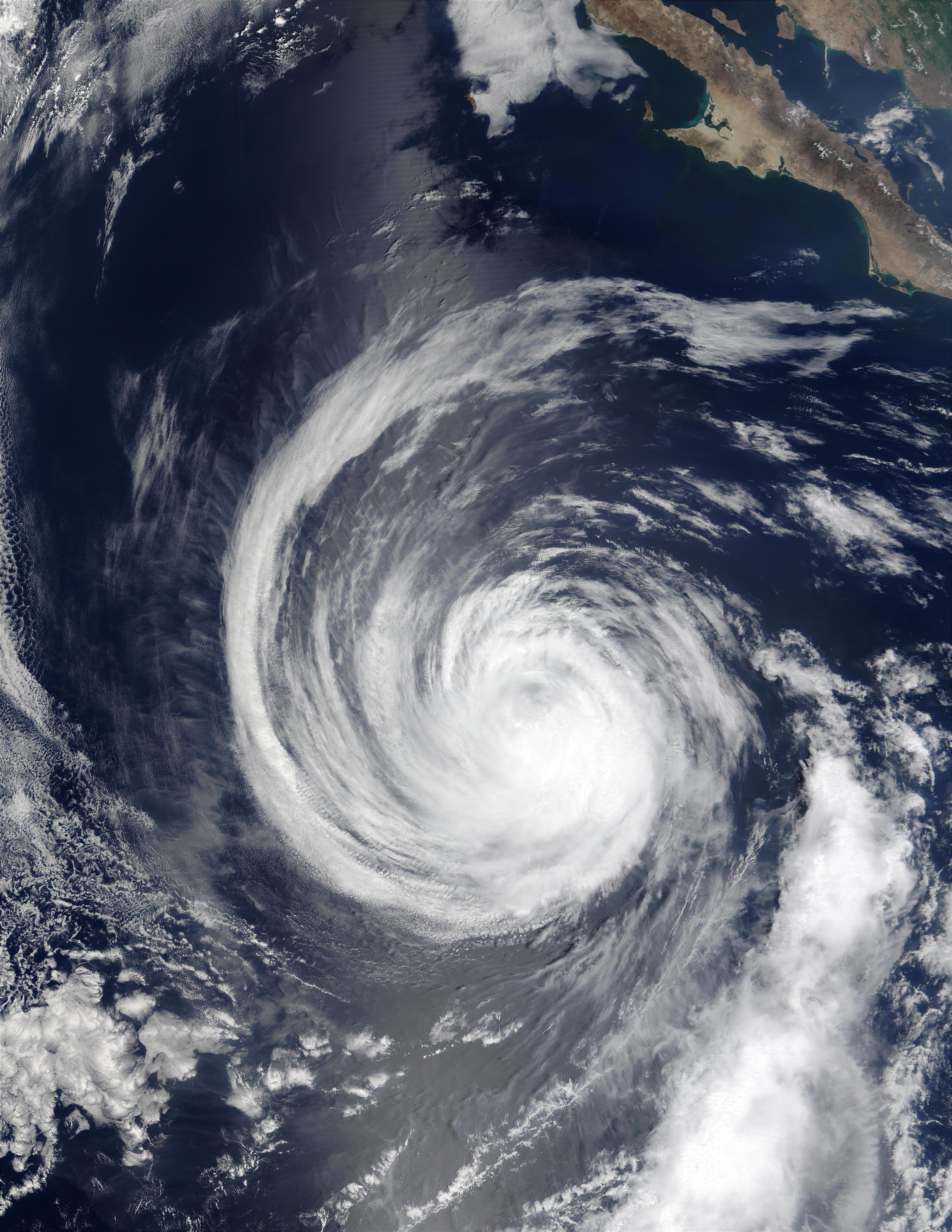 Hurricane Hernan (10E) south of Baja California - related image preview