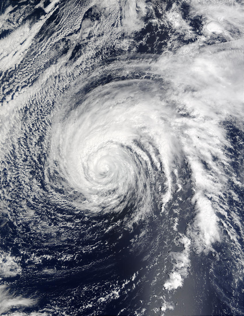 Typhoon Ele (02C) in Central Pacific Ocean - related image preview