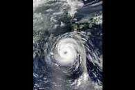Typhoon Sinlaku (22W) south of Japan