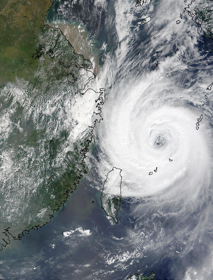 Typhoon Sinlaku (22W) off China - related image preview
