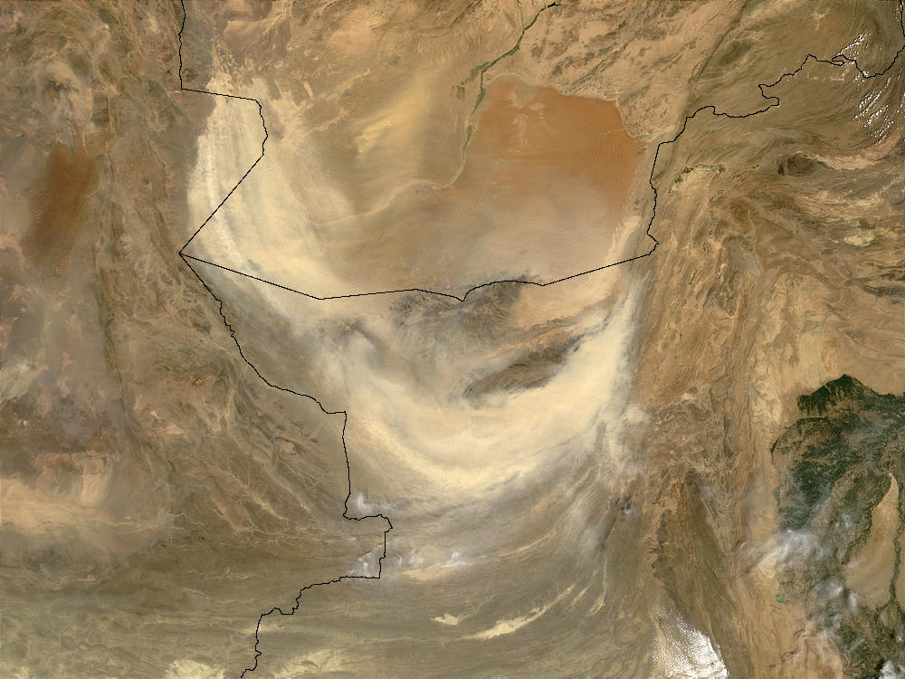 Dust storm in Pakistan - related image preview