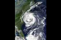 Tropical Storm Gustav off North Carolina
