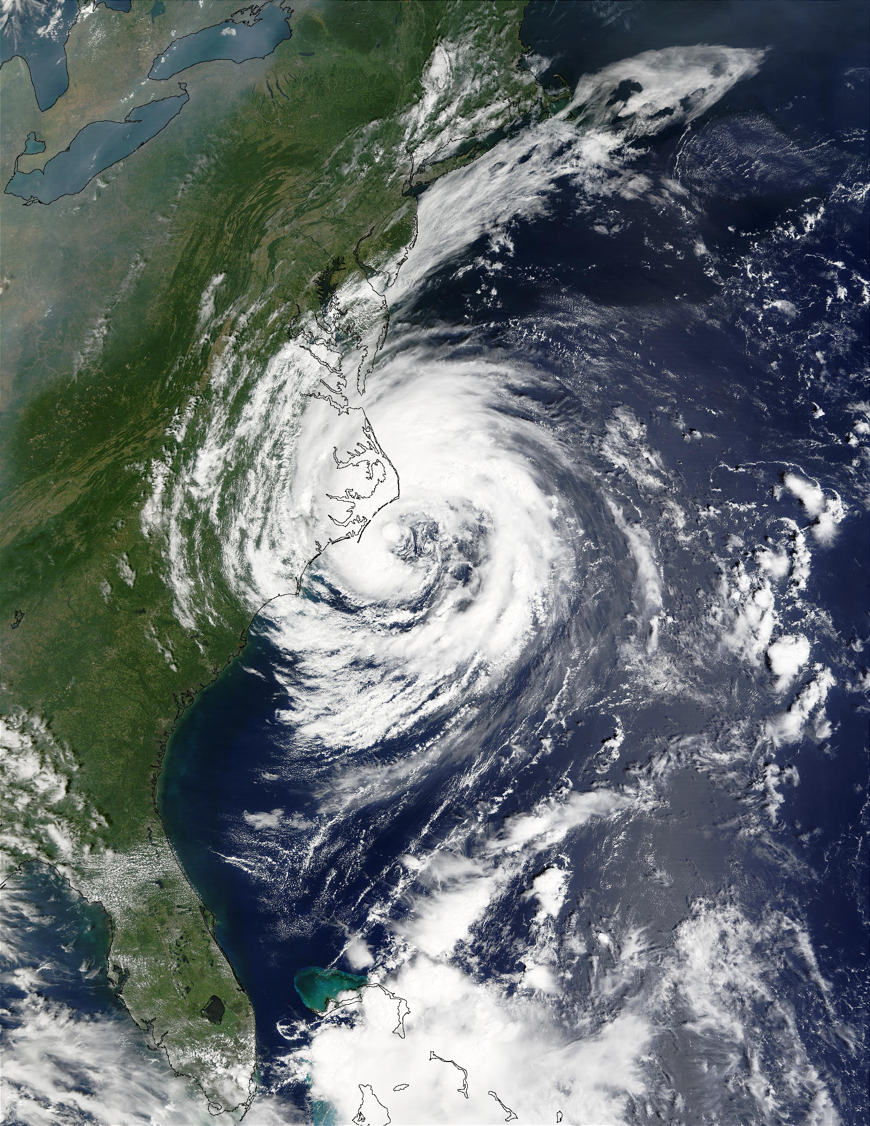 Tropical Storm Gustav off North Carolina - related image preview