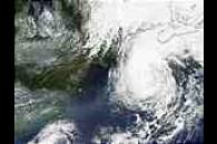 Hurricane Gustav off New England