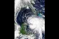 Hurricane Isidore over Cuba