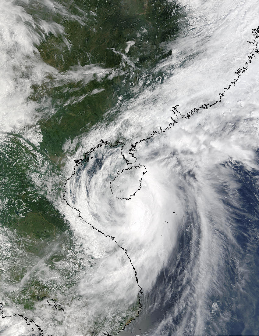Tropical Storm Mekkhala off Vietnam and China - related image preview