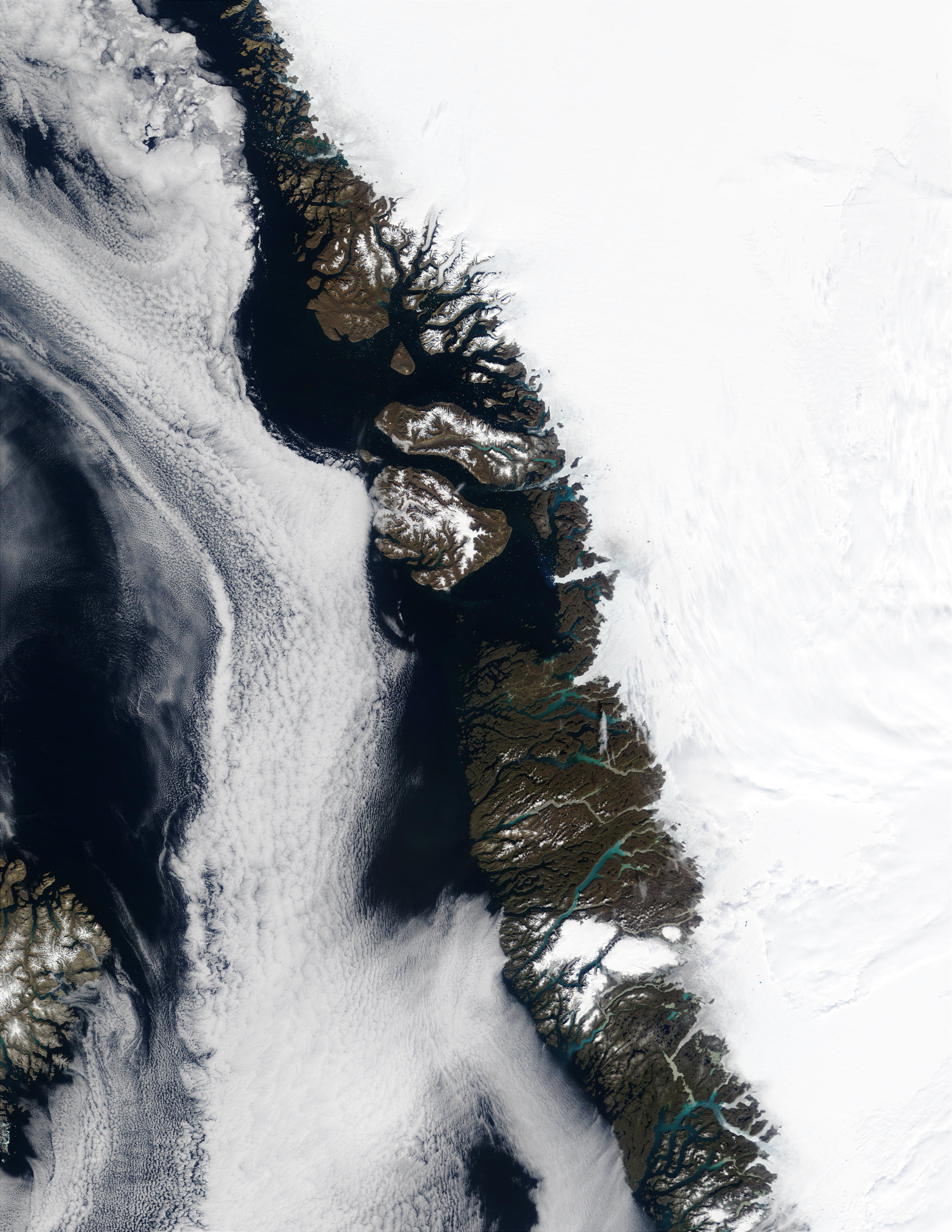 Davis Strait and Greenland West Coast - related image preview