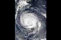 Typhoon Rusa (21W) south of Japan
