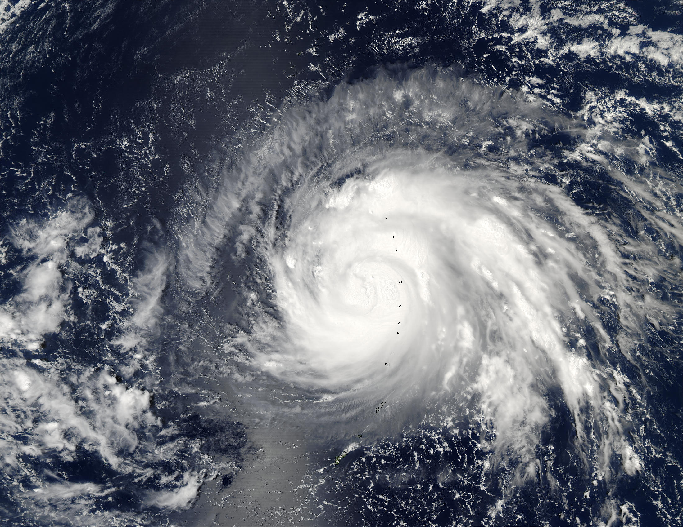 Typhoon Higos over Mariana Islands, Pacific Ocean - related image preview