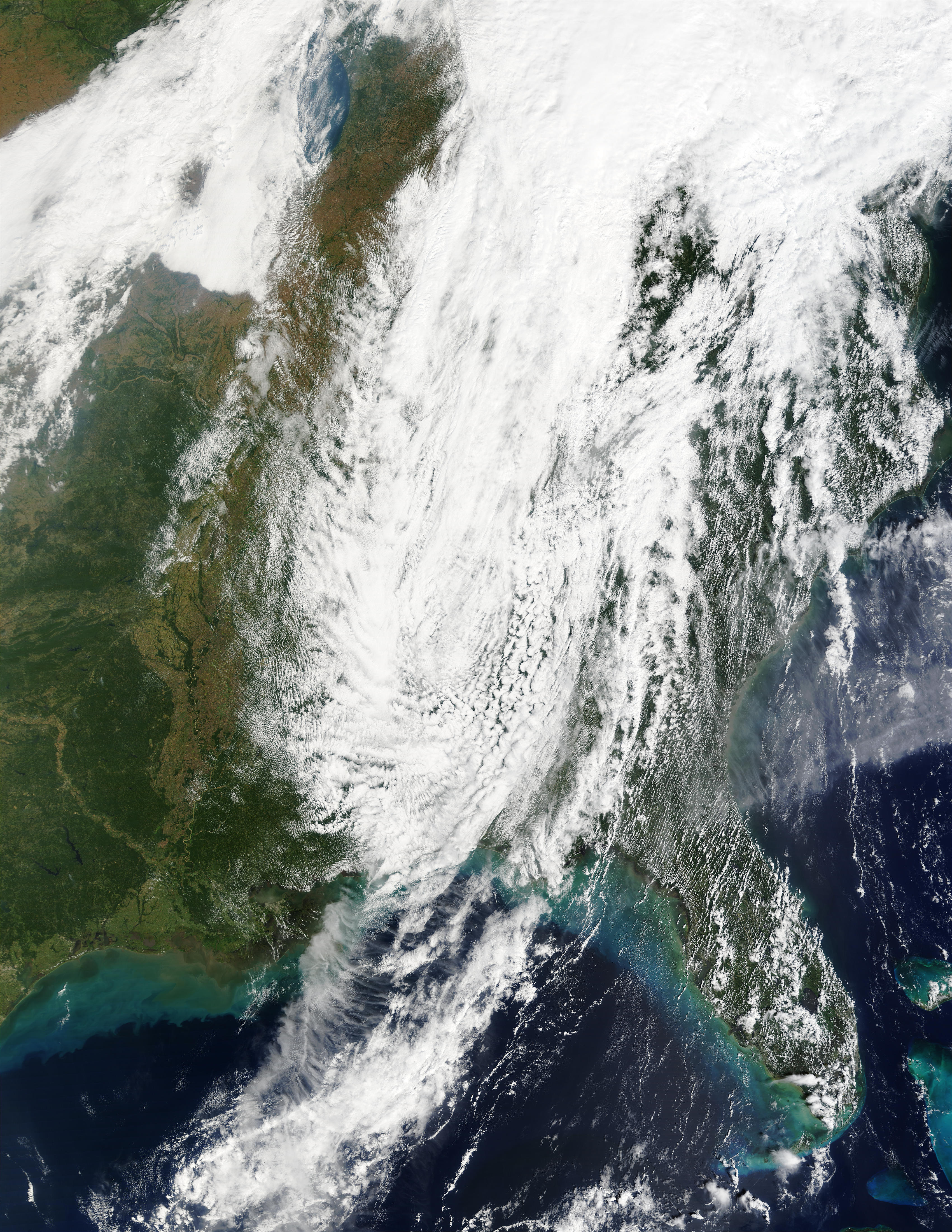 Remnants of Tropical Storm Isidore over Eastern United States - related image preview