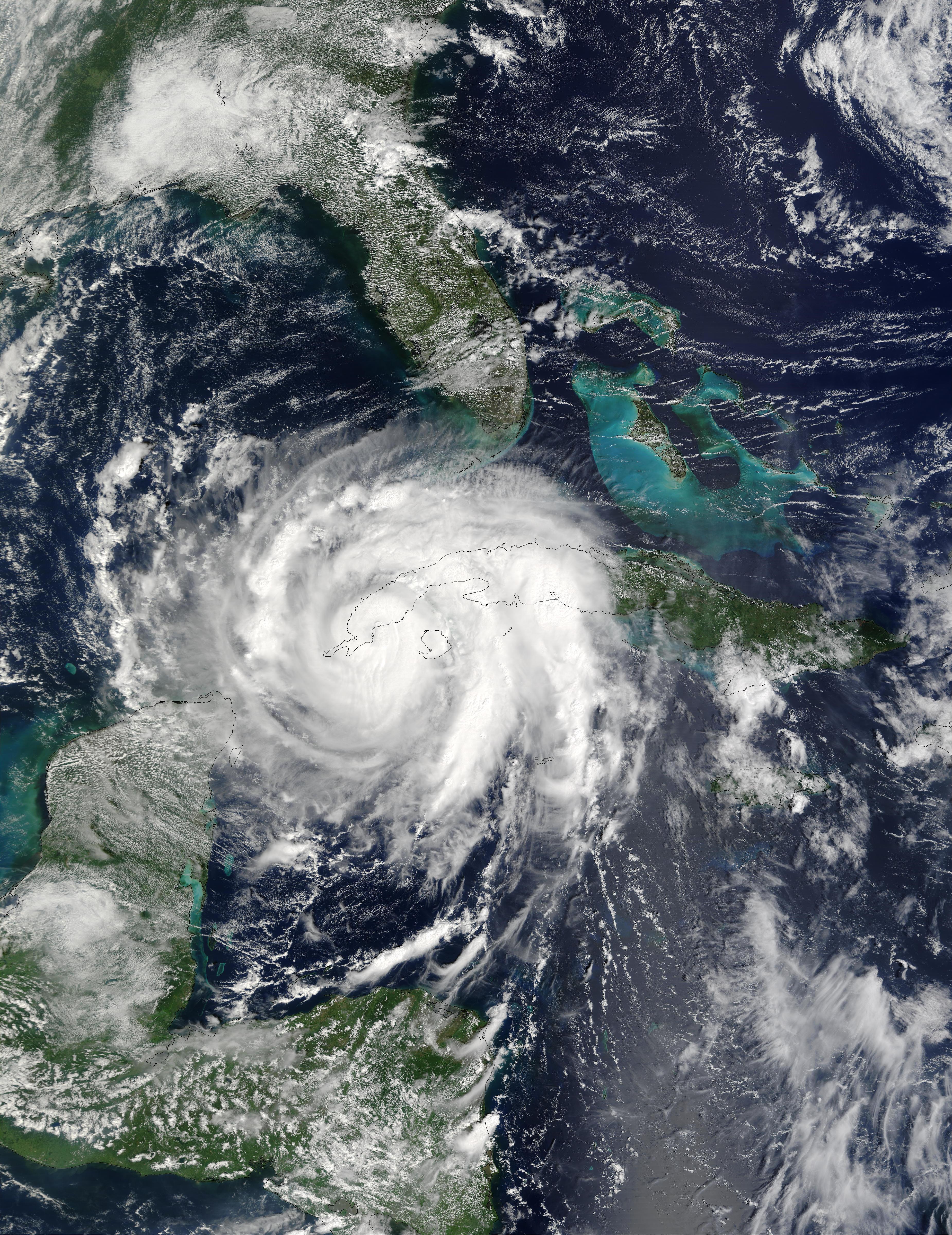 NASA Visible Earth: Hurricane Lili over Cuba