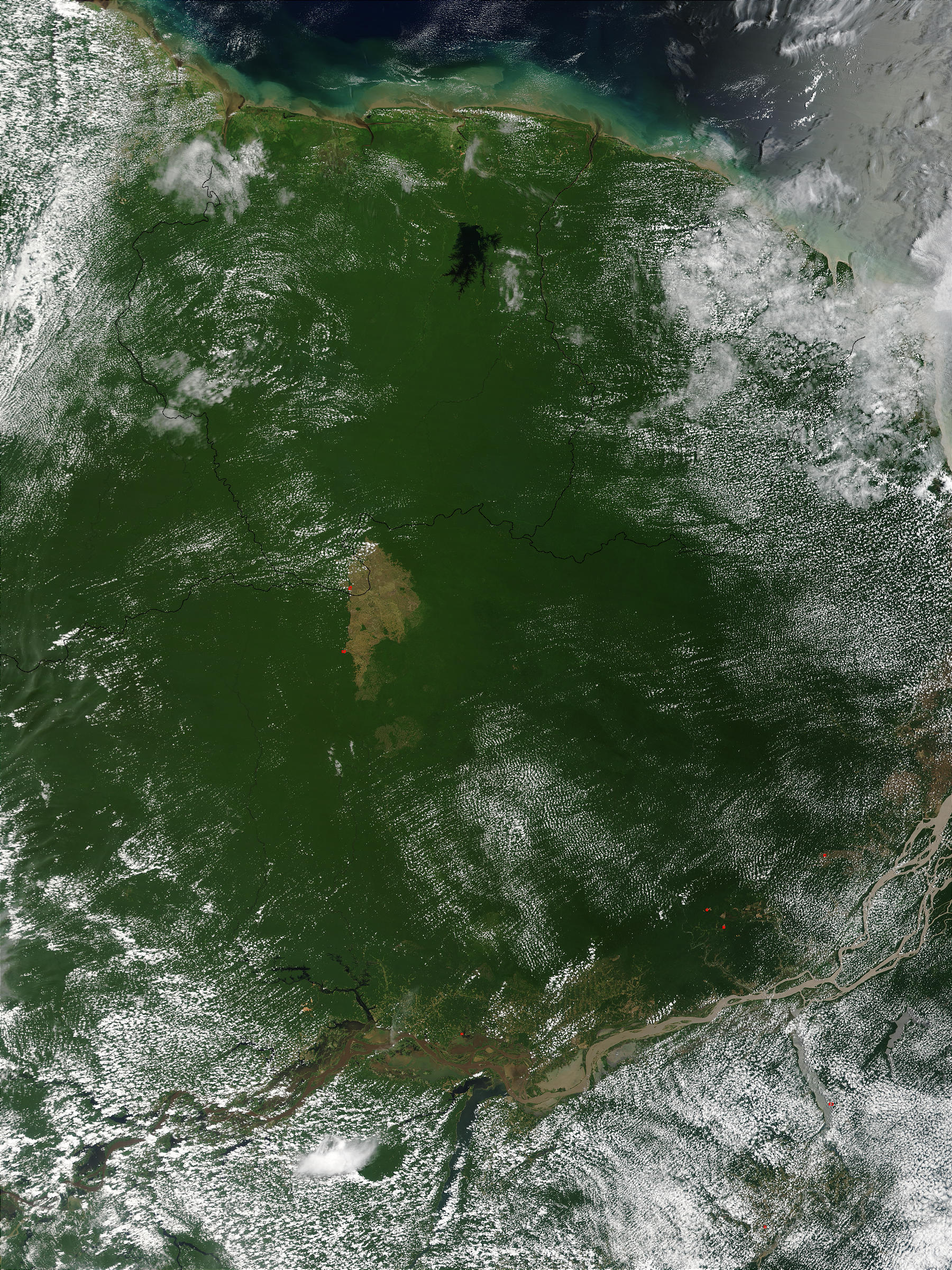 Northern Brazil and Suriname - related image preview