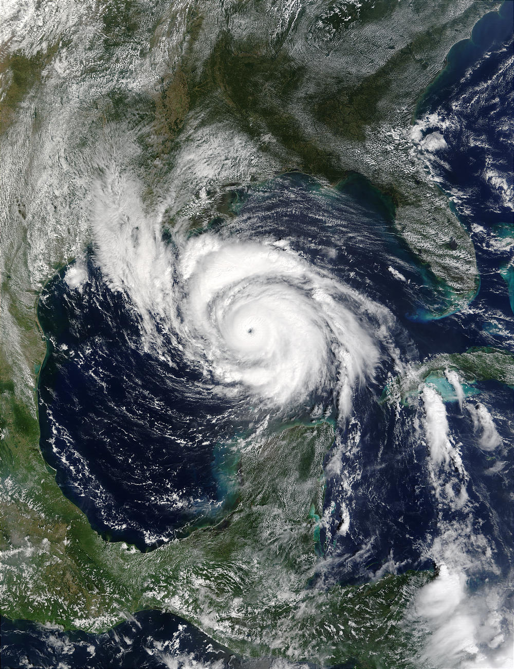 Hurricane Lili in the Gulf of Mexico - related image preview