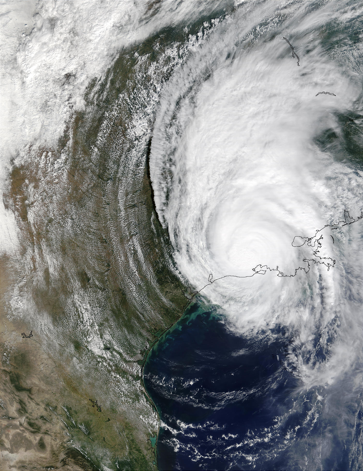Hurricane Lili over Louisiana - related image preview