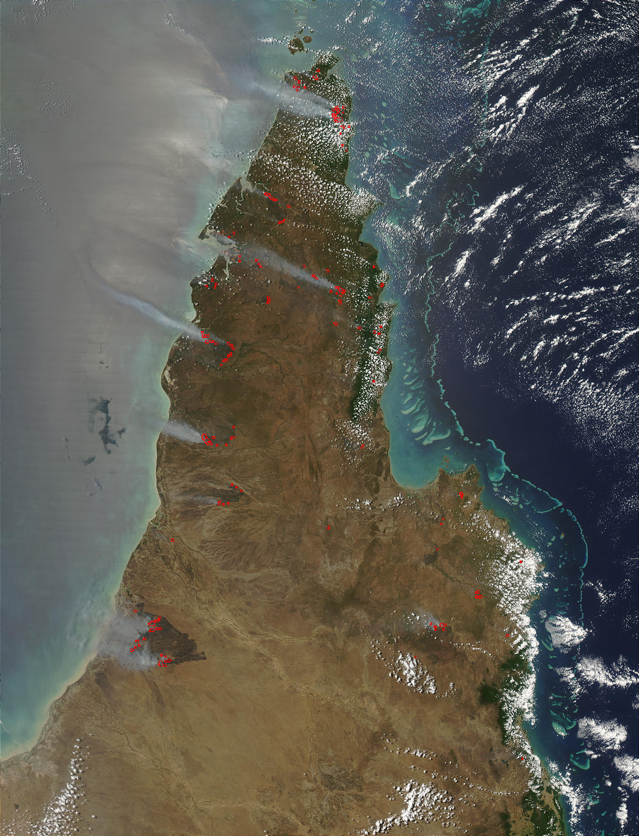 Fires in Queensland, Australia - related image preview