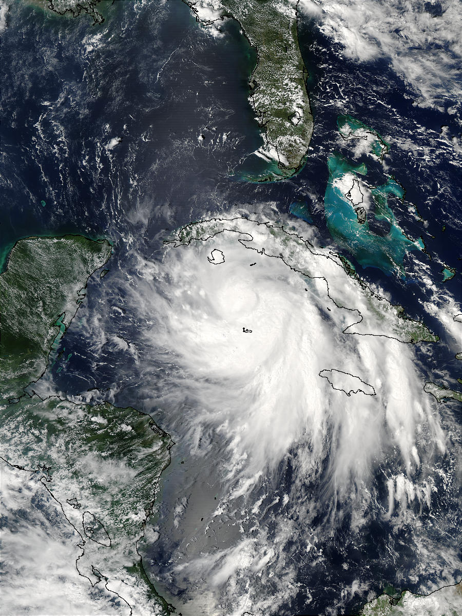 Tropical Storm Isidore south of Cuba - related image preview