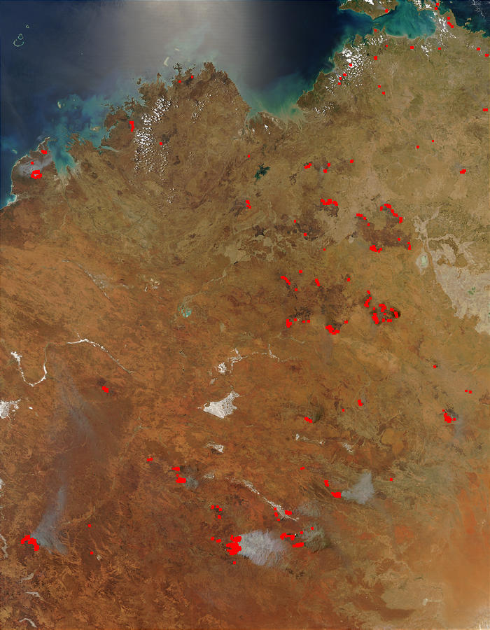 Fires in Northern and Central Australia - related image preview