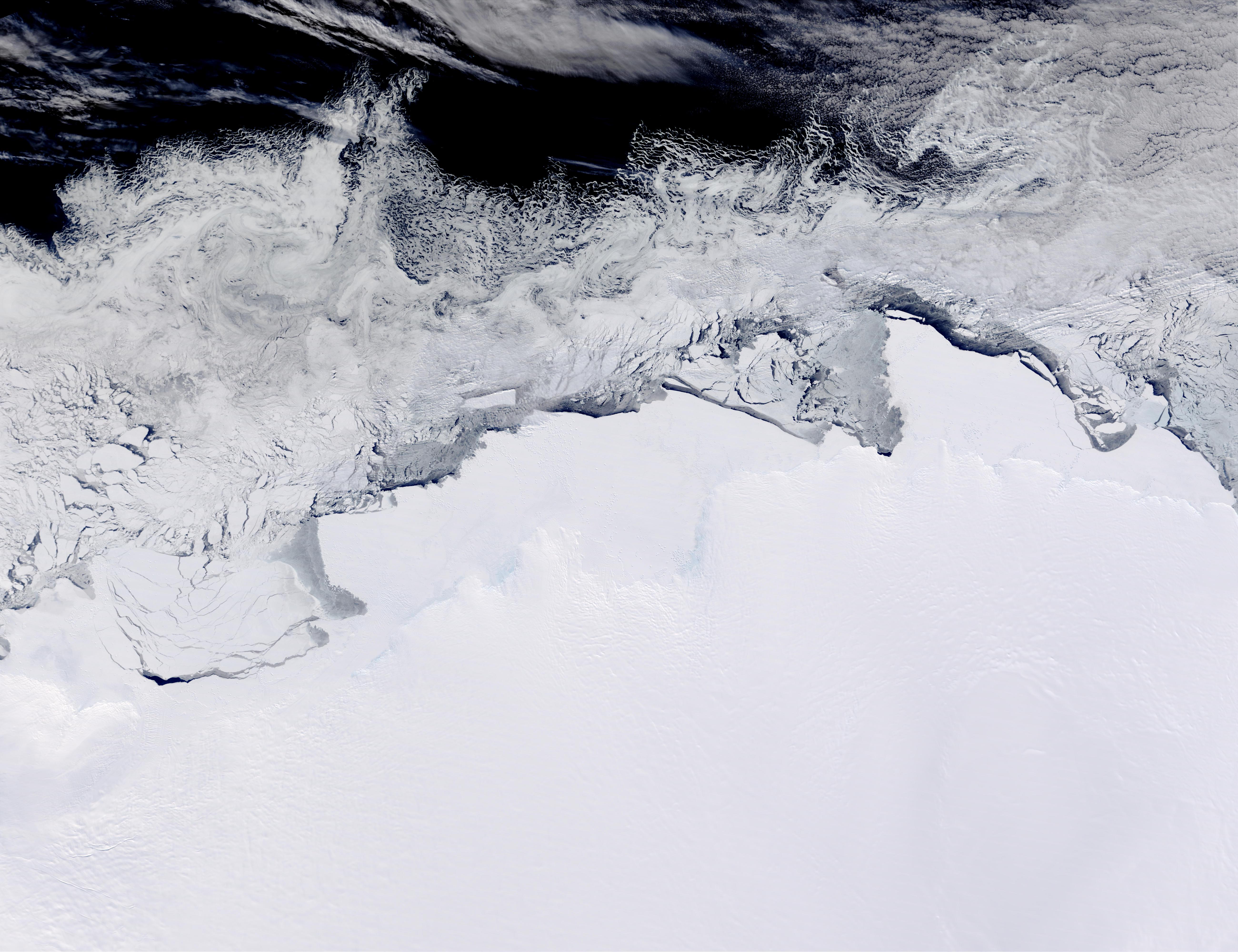 Sabrina Coast, Banzare Coast, and Clarie Coast, Antarctica - related image preview