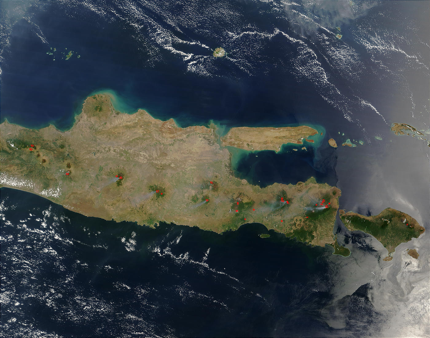 Fires in Java, Indonesia - related image preview
